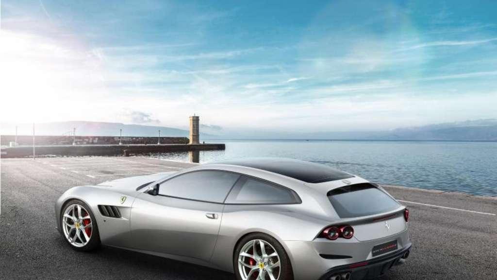 Mit kleinerem Motor: Der GTC4Lusso von Ferrari. Foto:Ferrari/Anna Vaczi