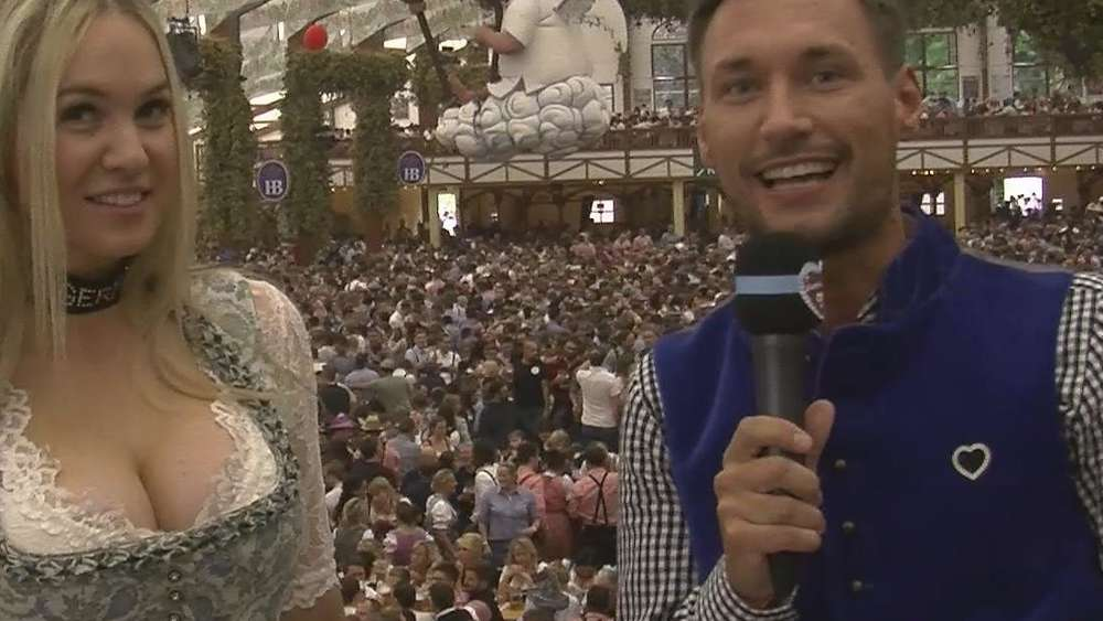 Wiesn-Playmate Kathie Kern wieder Single: