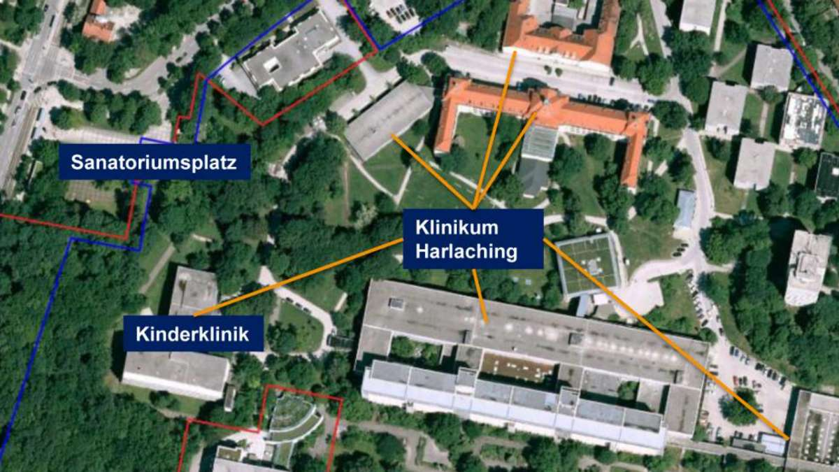 Klinikum München: Harlaching ist größte