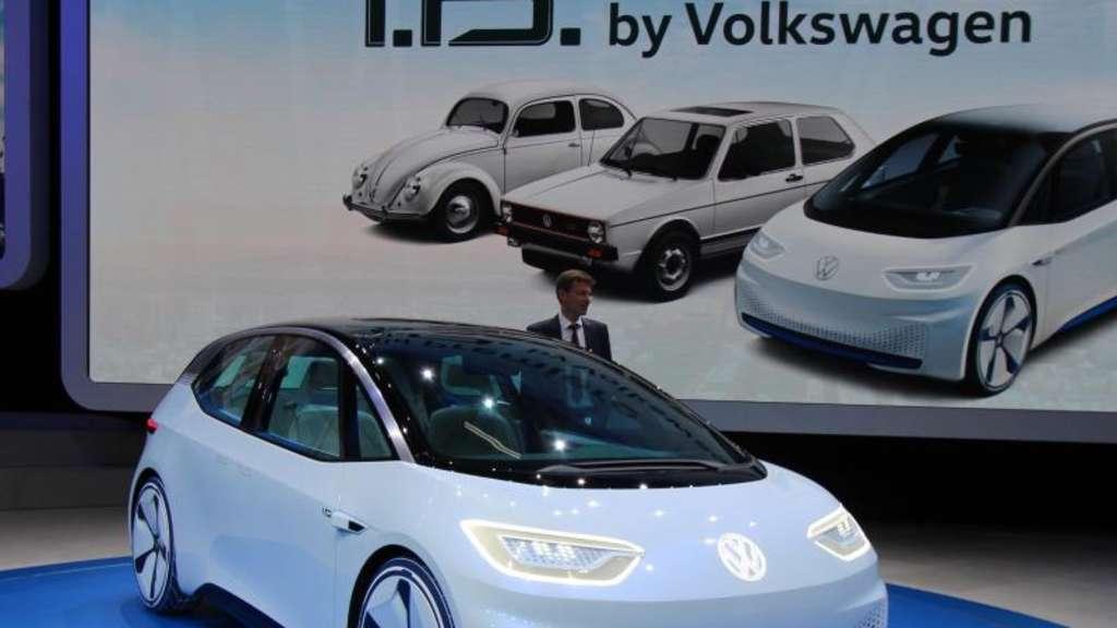Wird das der nächste Käfer oder Golf? Die Frage dürfte bis zum Ende des Jahrzehnts offen bleiben, denn bis dahin hat VW eine Serienversion der Studie I.D. angekündigt. Foto:Thomas Geiger