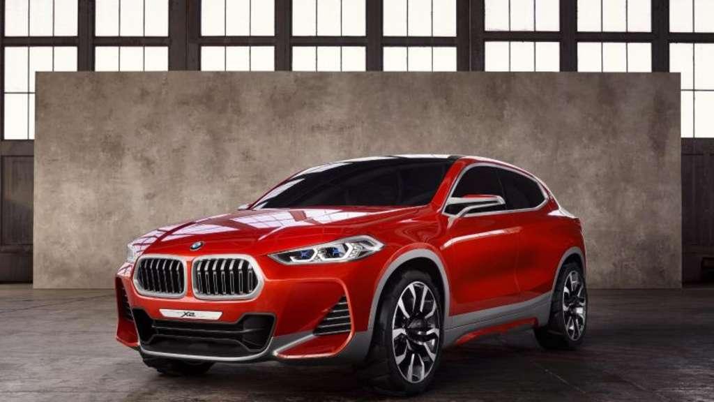 Vorschau auf eine mögliche neue Baureihe: BMW zeigt auf dem Pariser Salon die Studie X2 Concept, macht aber noch keine Angaben zur Realisation des SUV-Coupés. Foto:BMW