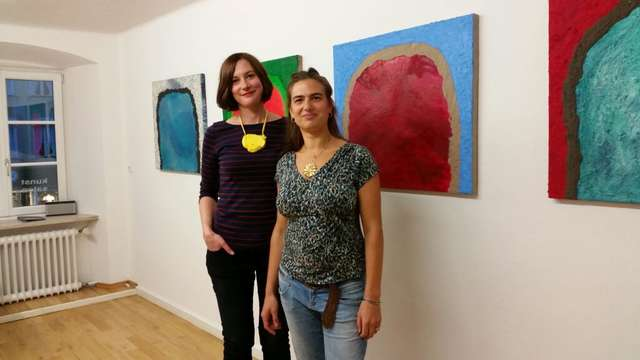 Vernissage im Kunstsalon