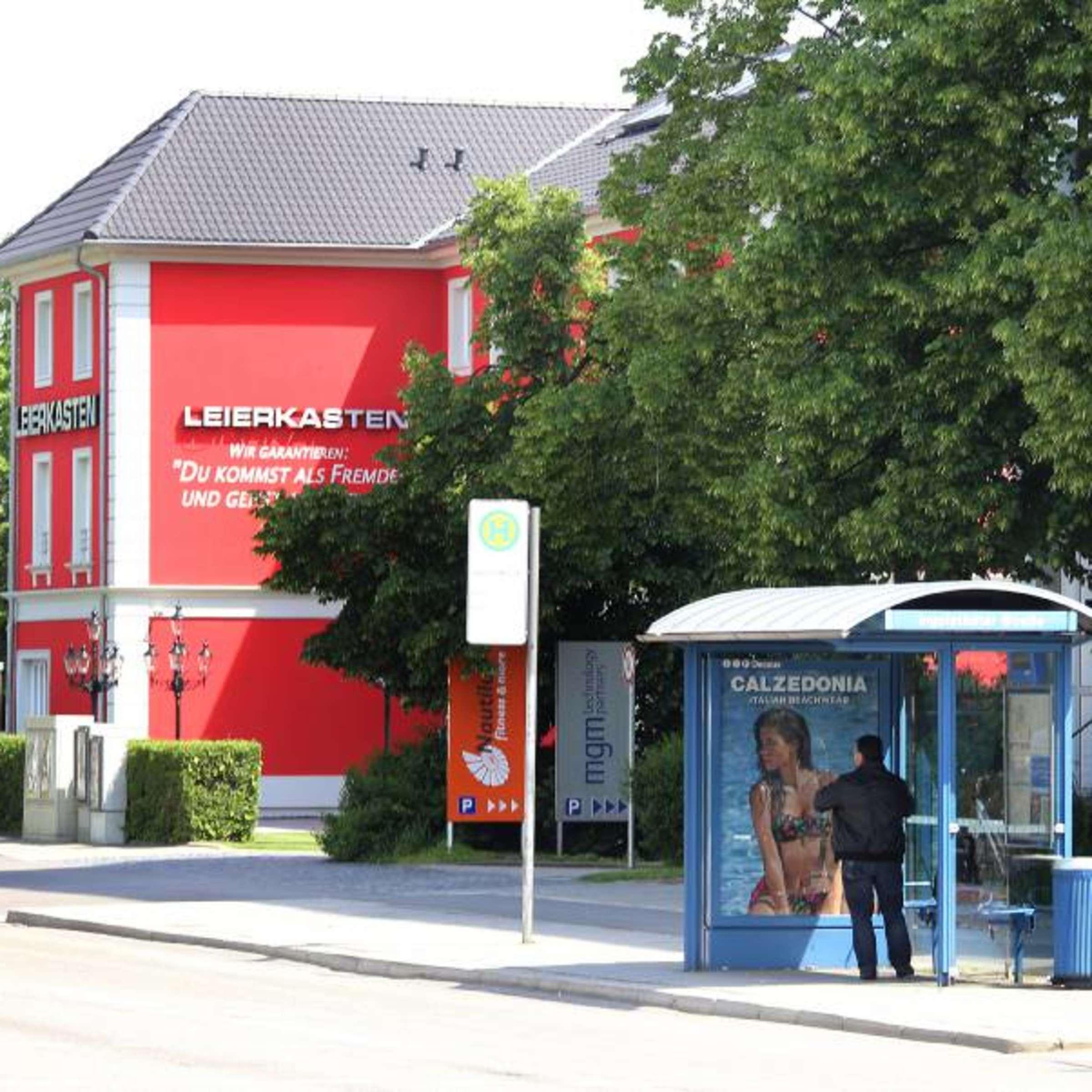 Muenchen leierkasten München: Schlangestehen