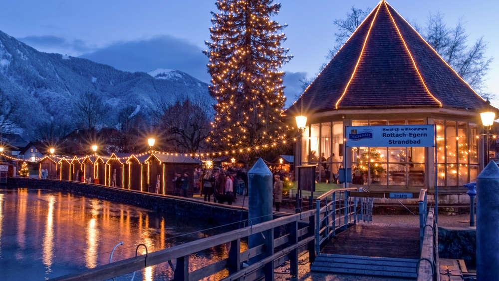 Weihnachtsmärkte am Tegernsee mit Pendelschiff ...