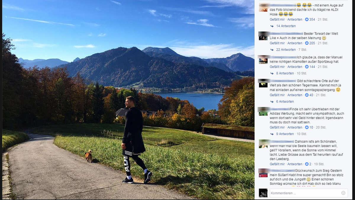 Manuel Neuer tankt Kraft am Tegernsee wohnt er schon in