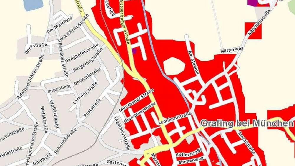 Telekom Glasfaserausbau Karte.Grafing Bekommt Schnelleres Internet Aber Nicht überall Grafing