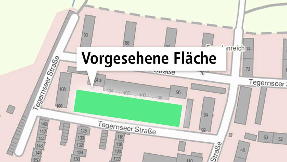 Wahnsinn: WBG baut 53 Garagen auf riesiger Fläche in Hausham | Hausham