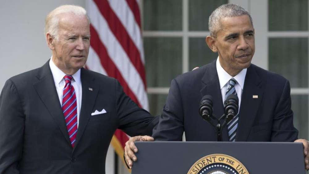 Dreamteam: Barack Obama und Joe Biden. Foto: Michael Reynolds
