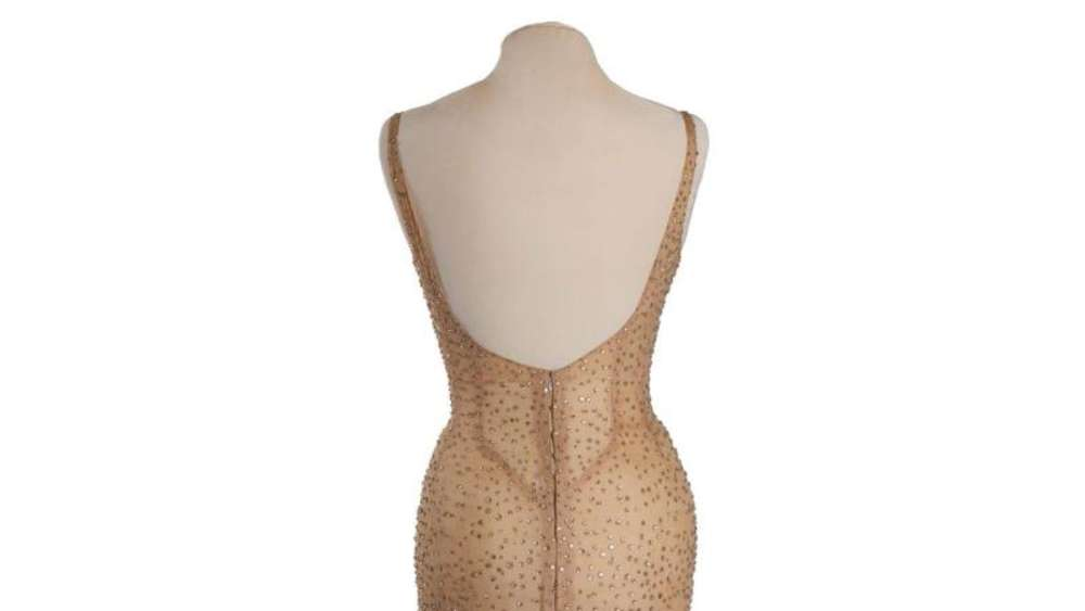 Marilyn Monroes hautenges Kleid wurde von Hollywood-Designer Jean Louis entworfen. Foto: Julien Auctions
