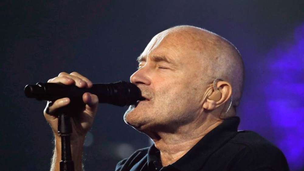 Phil Collins war ehrlich. Foto: Peter Foley