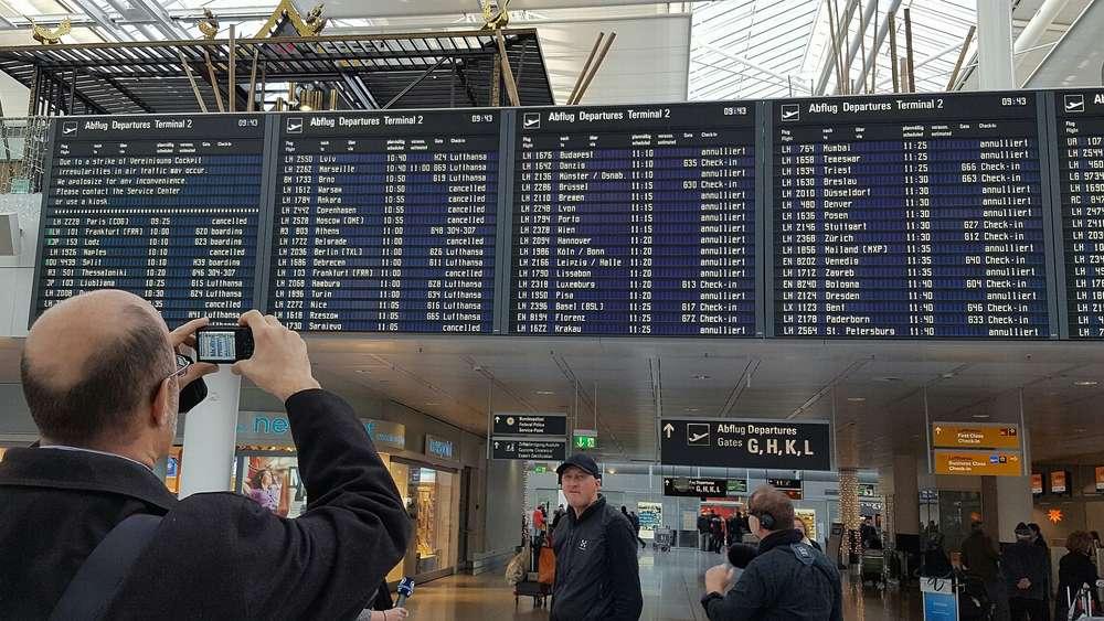 flughafen münchen streik