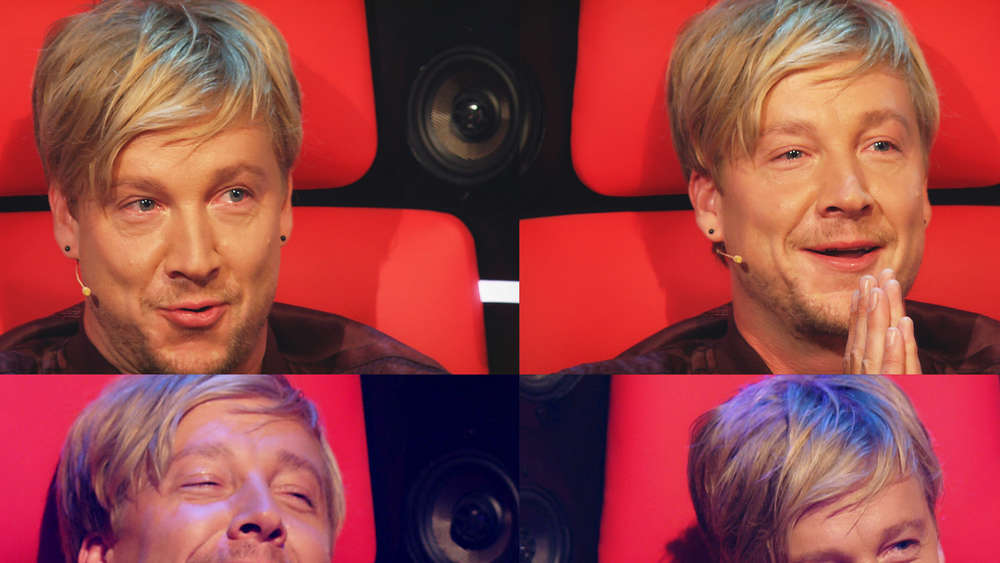 "Samu Haber bei ""The Voice of Germany"""