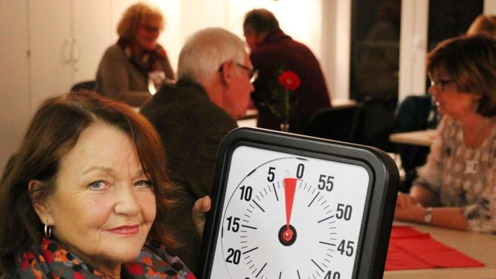 Speed-Dating für Senioren