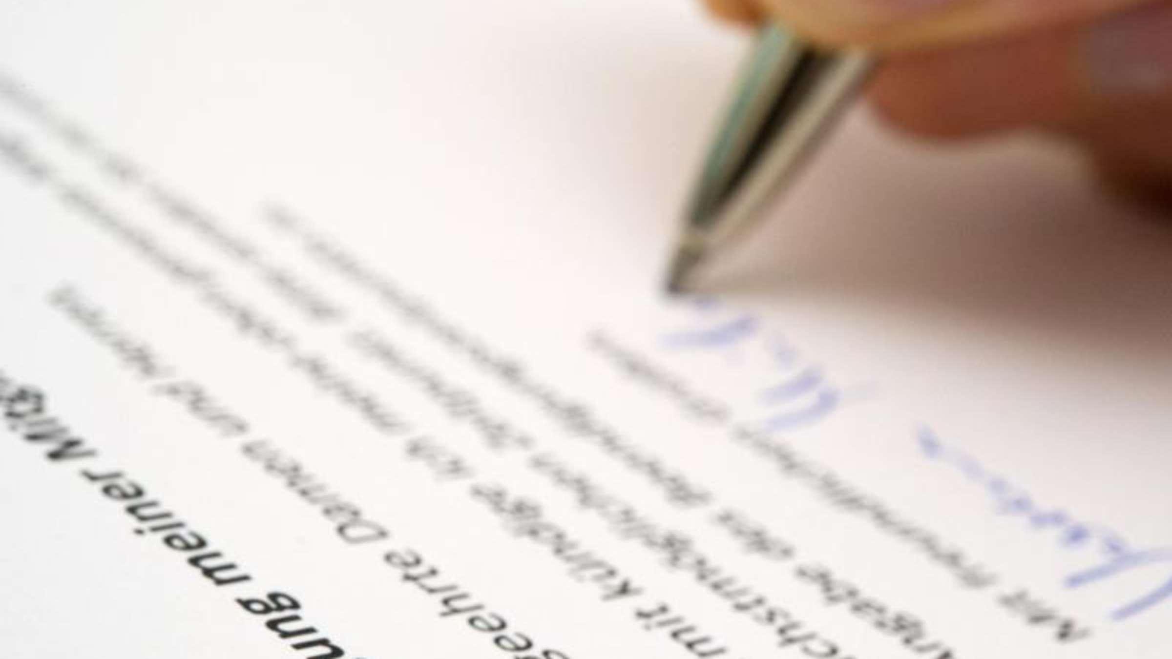 Verträge Kündigen Auf Formulierung Achten Leben