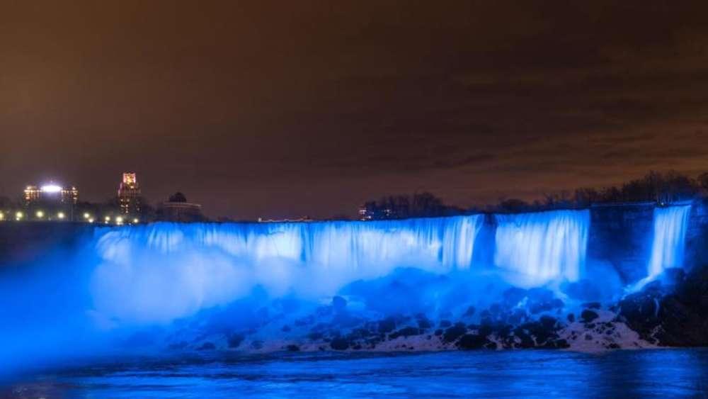 Niagarafälle Erstrahlen In Neuem Licht Reise