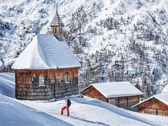 Skitour Rotes Kinggele Winter