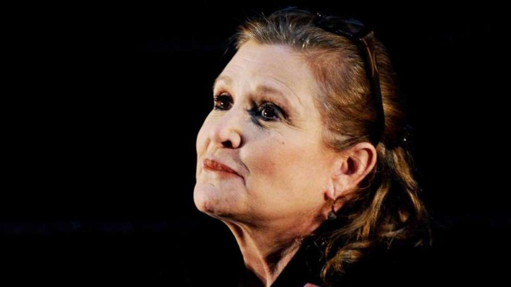 Carrie Fisher ist tot. Foto: Tracey Nearmy