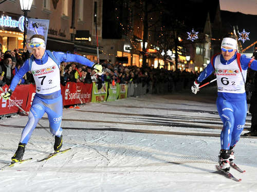 Bilder vom 21. City-Biathlon in Garmisch-Partenkirchen