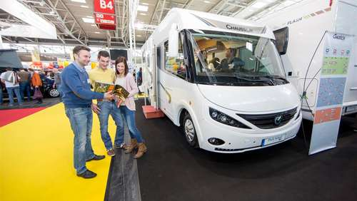 Messe f.re.e 2017: Zwei Hallen Caravaning & mobile Freizeit