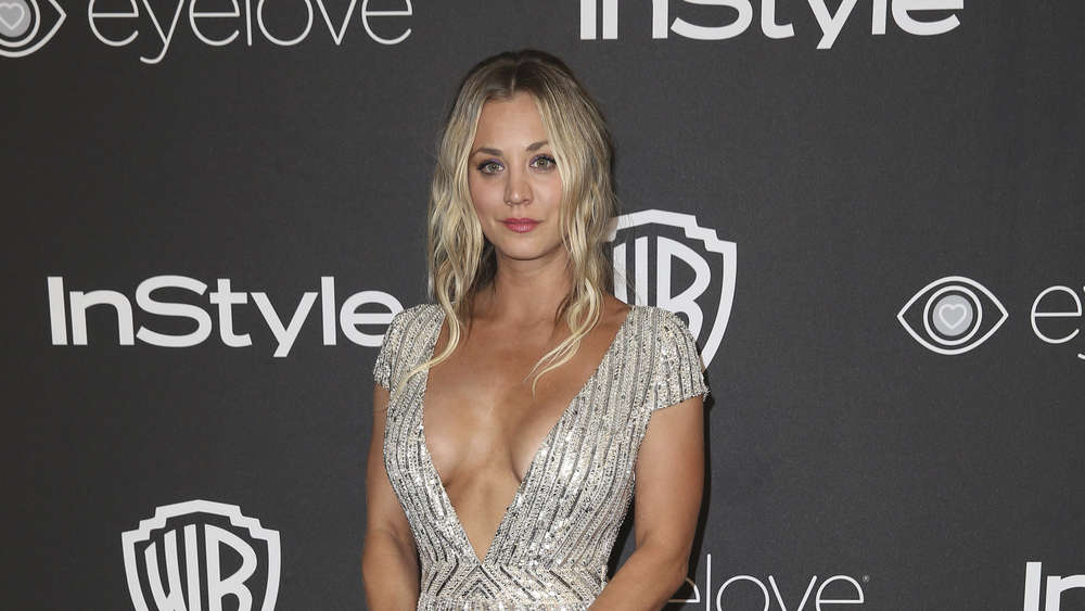 Kaley Cuoco auf der Golden Globes Aftershow.