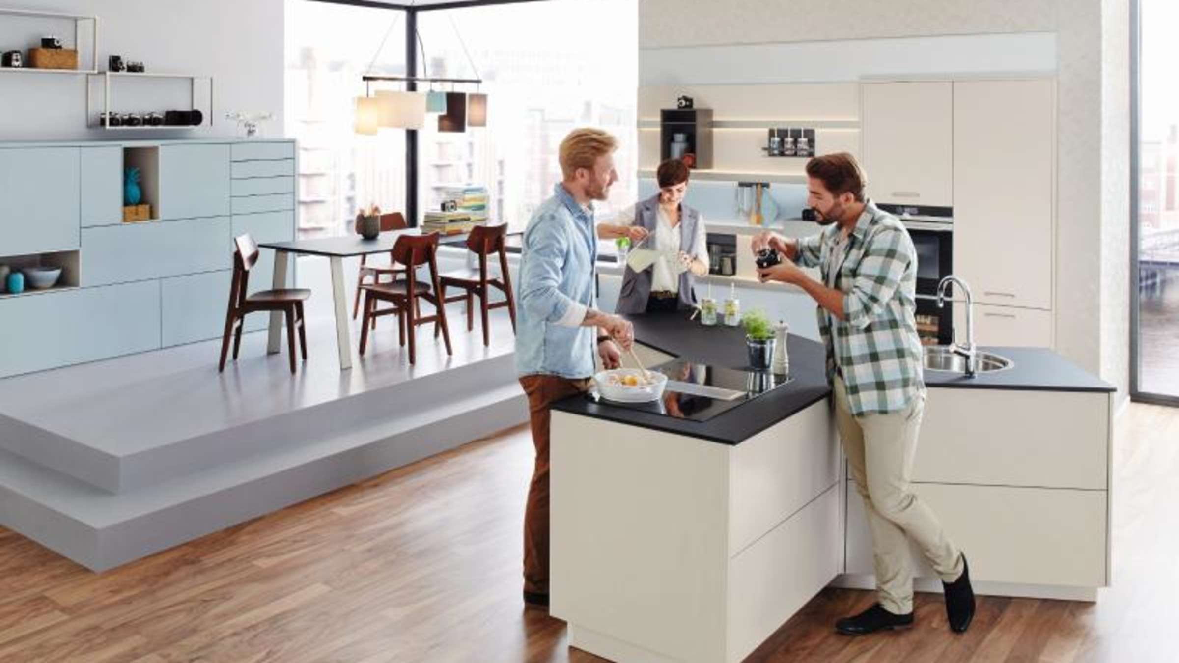 Neue Möbel für offene Grundrisse  Wohnen