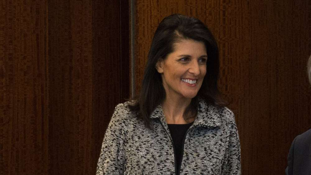 UN Secretary General meets with new US Ambassador to the United Nations Nikki Haley