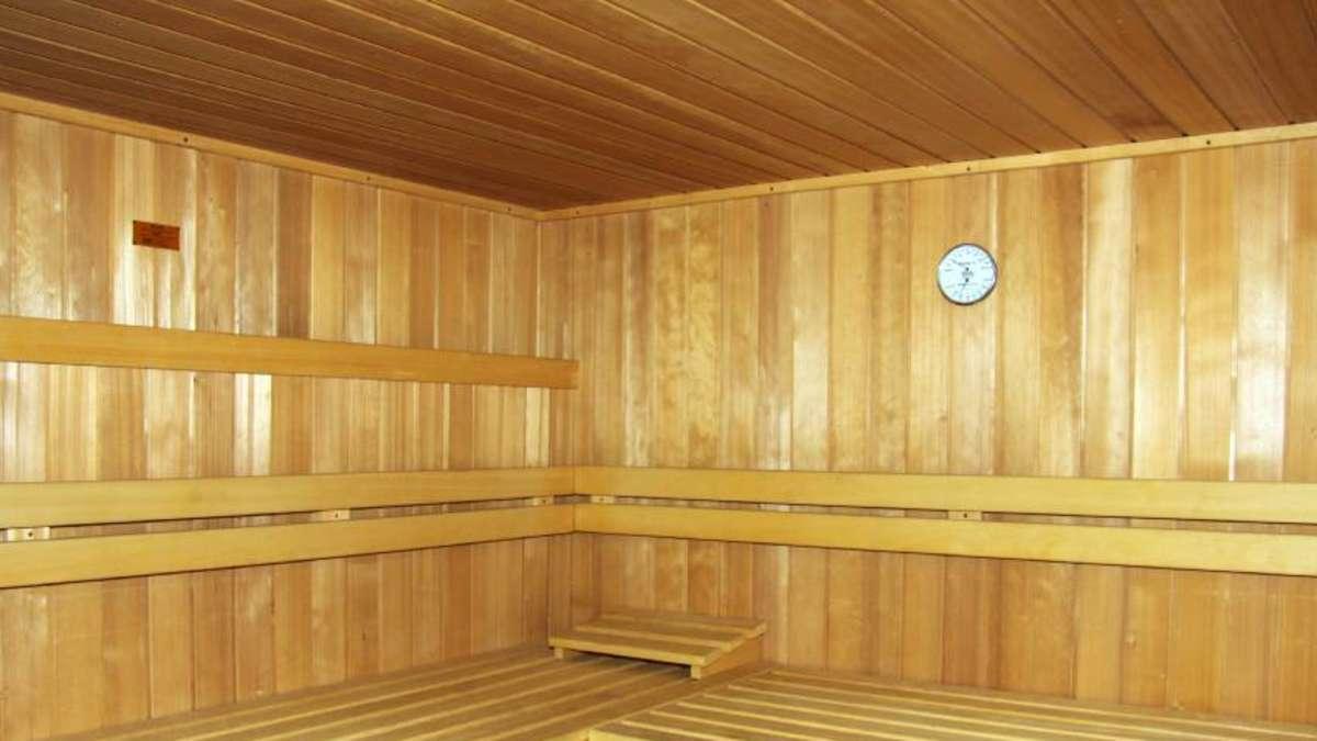 drei zwei eins meins verein versteigert sauna mammendorf. Black Bedroom Furniture Sets. Home Design Ideas