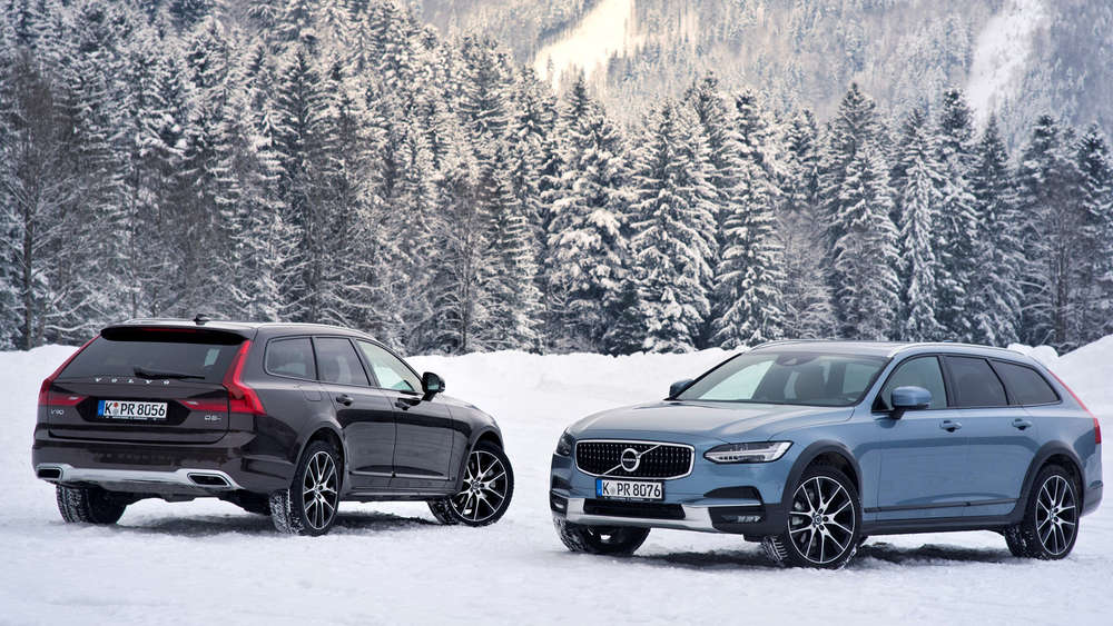 V90 Cross Country und XC60.