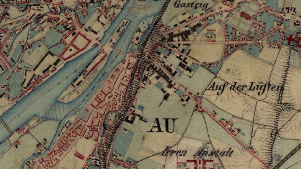 München Karte Bayern.München 1856 Vier Karten Die Ihren Blick Auf Die Stadt Verändern