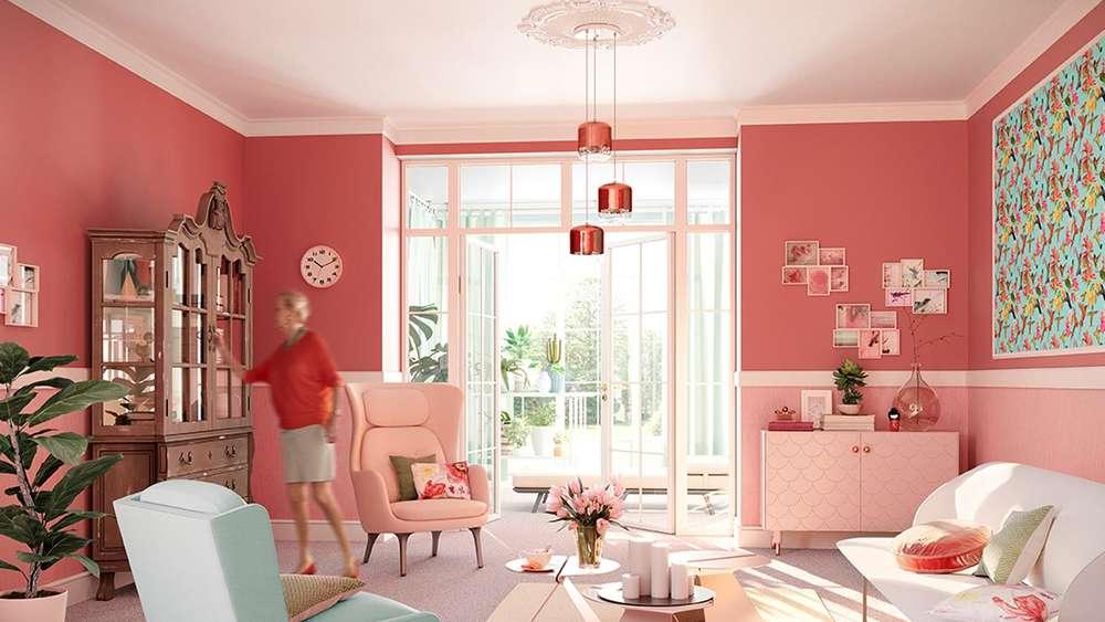 die neuen wohntrends klare linien und starke emotionen. Black Bedroom Furniture Sets. Home Design Ideas