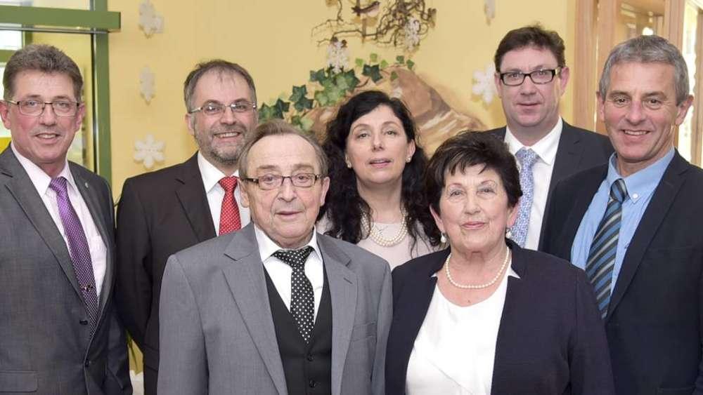 Diamantene Hochzeit Springmann Altersruhesitz Taufkirchen