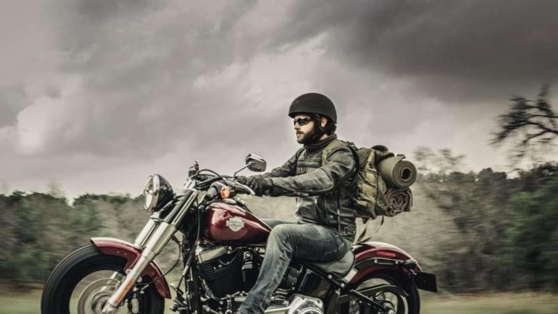Chopper-Klassiker: Die Softail-Modelle von Harley-Davidson. Foto: Harley-Davidson/dpa-tmn