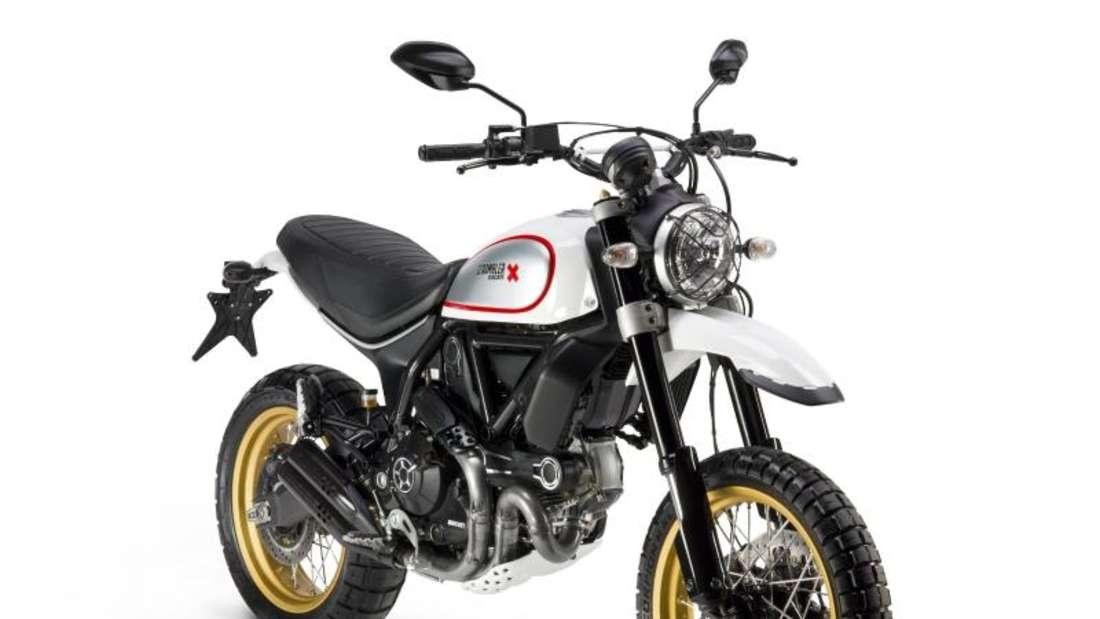 Retro-Bike: Die Ducati Scrambler ist ein neues Motorrad mit einer Optik, die an klassische Maschinen erinnert. Foto: Giuliana Casadei/Ducati/dpa-tmn