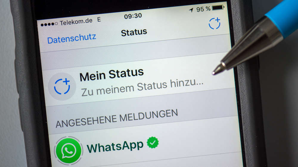 Neue WhatsApp Status-Feature