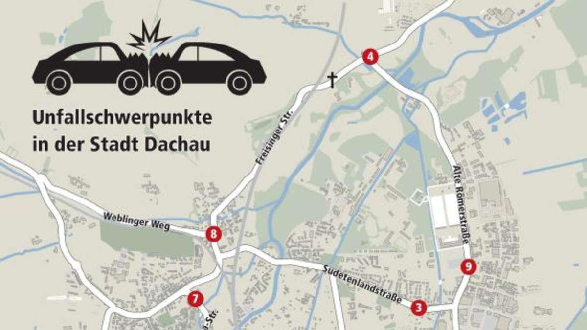 Unfallstatistik 2016 F R Den Landkreis Dachau Mehr Tote