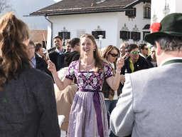 Empfang einer Doppel-Weltmeisterin im Biathlon:Schliersee feiert Vanessa Hinz