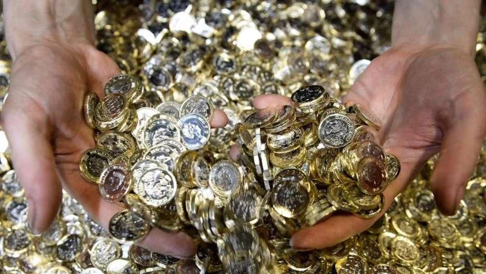 Alte Ein Pfund Münze Gilt Nur Noch Bis 15 Oktober Reise