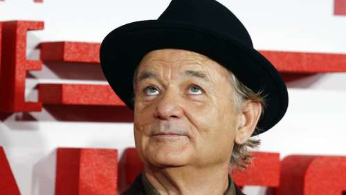 Hollywood-Legende Bill Murray kommt