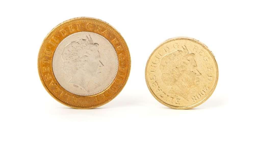Nach Brexit Neues Desaster Ein Pfund Münzen Gehen Kaputt Geld