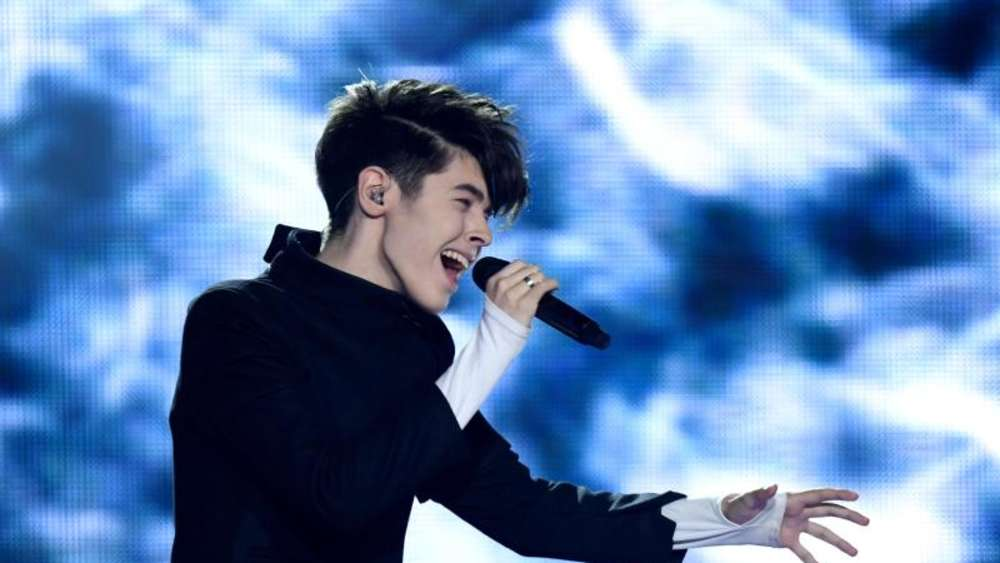 "Kristian Kostov singt für Bulgarien ""Beautiful Mess"". Foto: Julian Stratenschulte"