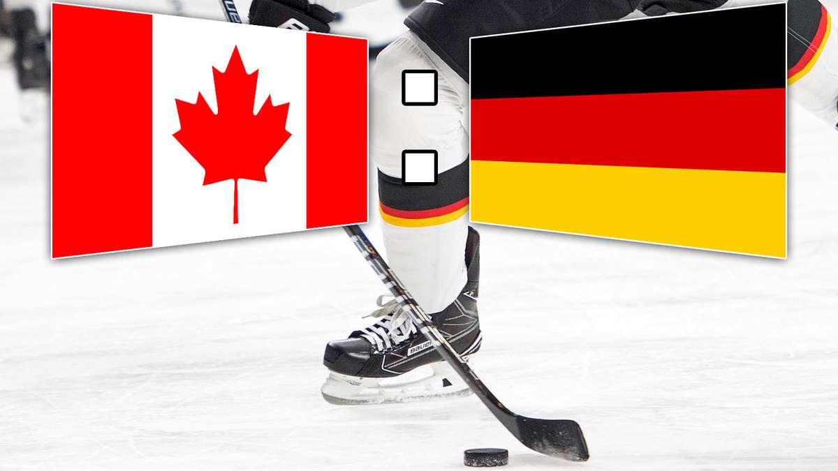 Deutschland Gegen Kanada Live