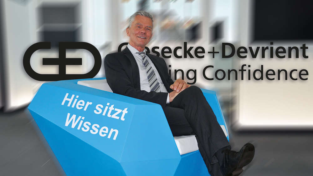 Dr. Manfred Ertl, Group Vice President und Leiter Corporate Finance von Giesecke+Devrient.