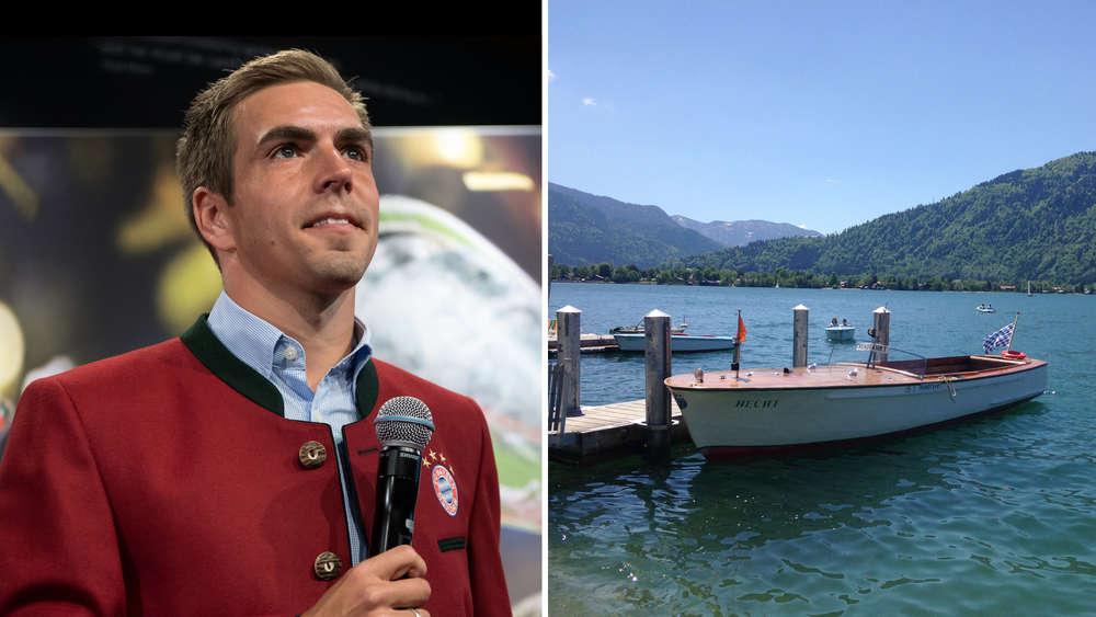Philipp Lahm will Abstand gewinnen Zuhause am Tegernsee