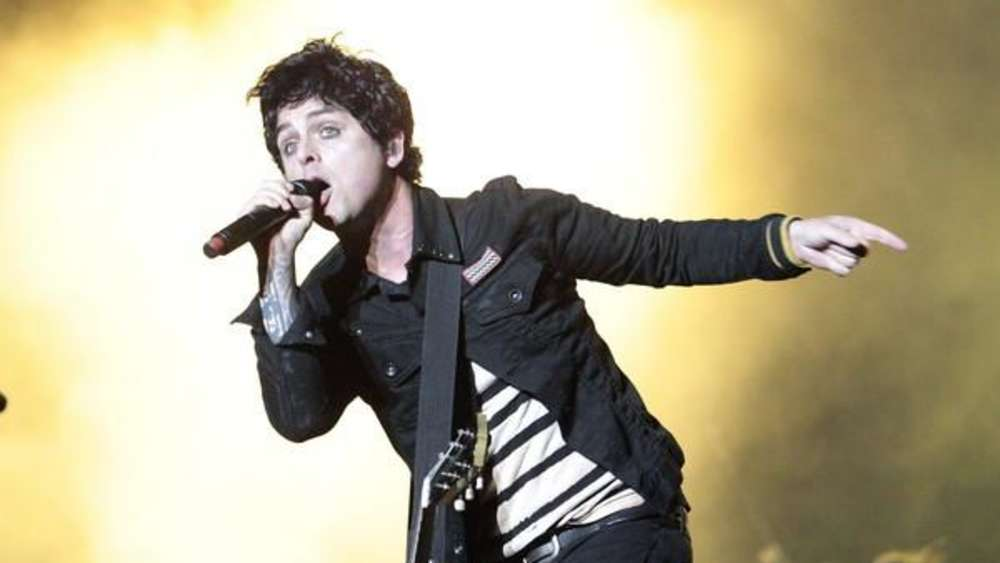 Band Green Day - Billie Joe Armstrong