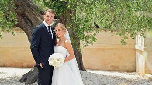 Manuel Neuer heiratet seine Nina in Italien