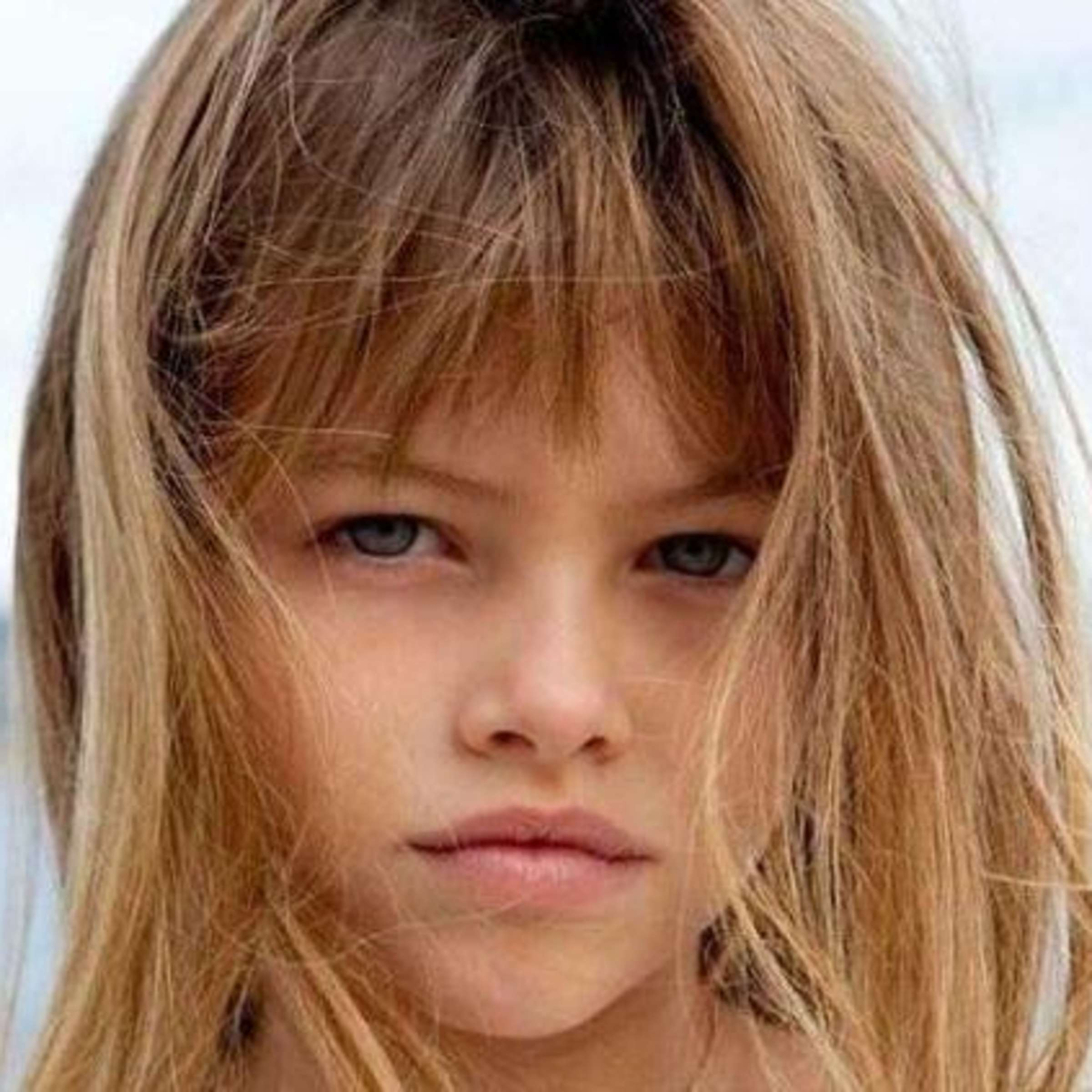 Welt nackt der das schönste kind Umstrittenes Kindermodel: