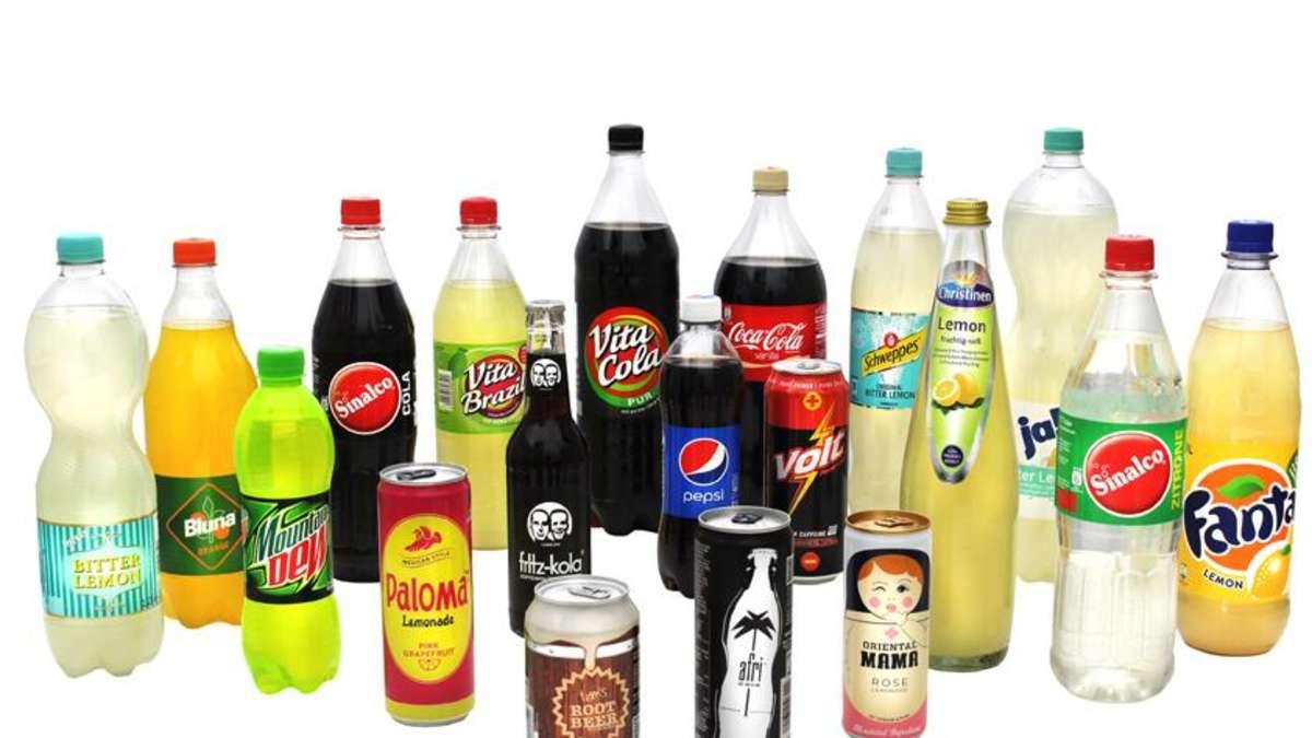 Test: Die acht zuckerhaltigsten Limos und Colas | Genuss
