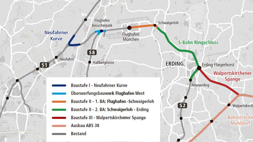 Erding Bekommt Eine S Bahn Zum Flughafen Baubeginn Des