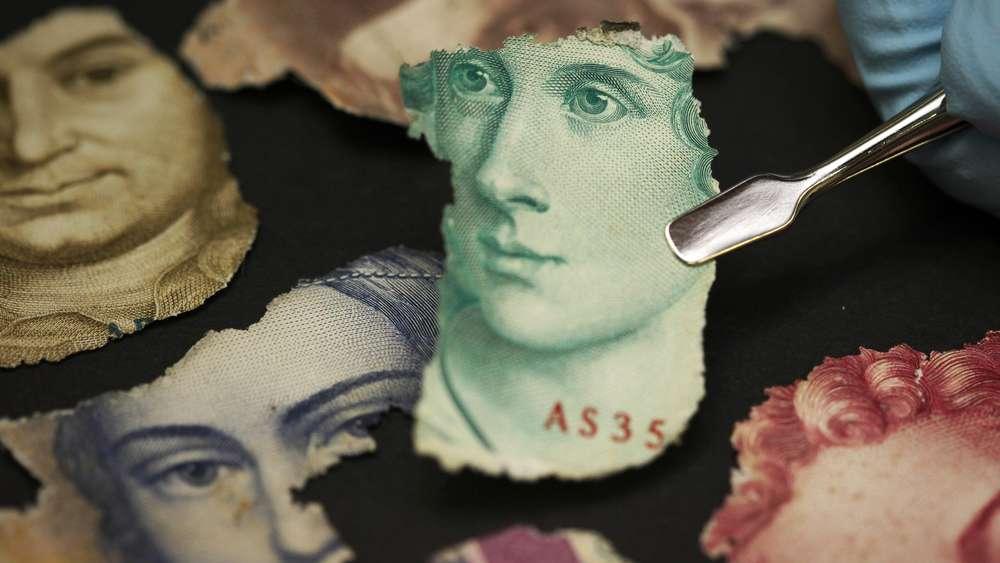 Kann Ich Einen Beschädigten Geldschein Einfach Umtauschen Geld