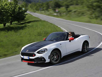 Rennsport-DNA: Der Abarth 124 spider.